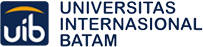 Universitas Internasional Batam(UIB) 대학 로고